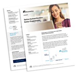 BehavioSec Product. Better Authentication. Better Experience. hubspot papers